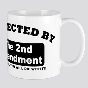 property of protected by 2nd amendment b Mug
